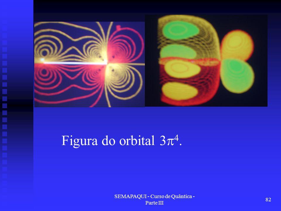 SEMAPAQUI - Curso de Quântica - Parte III 82 Figura do orbital 3  4.