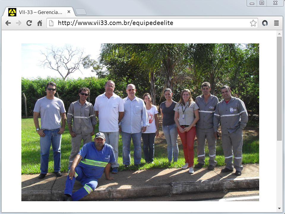 http://www.vii33.com.br/equipedeelite VII-33 – Gerencia...