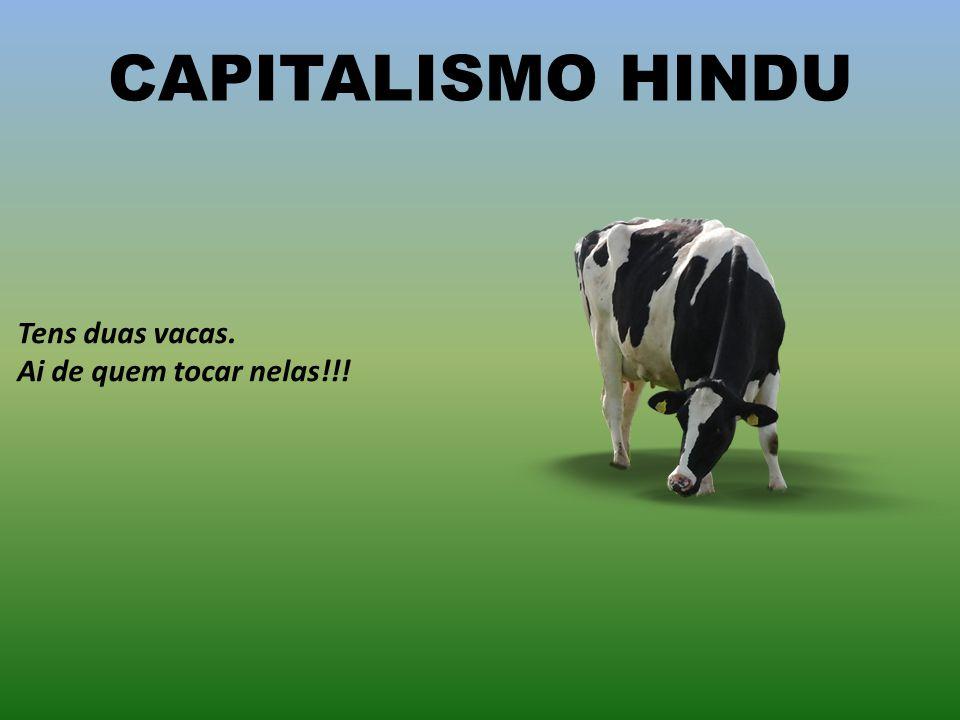 CAPITALISMO BRASILEIRO Tens duas vacas. Ensinas uma a jogar futebol e depois exportas para a selecção portuguesa...