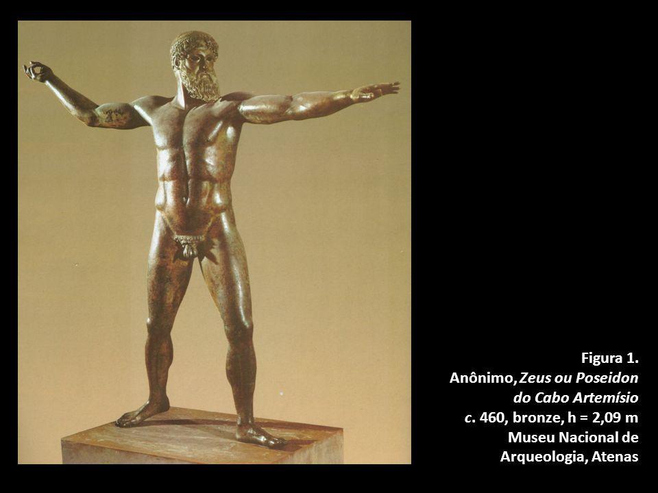 Figura 1.Anônimo, Zeus ou Poseidon do Cabo Artemísio c.