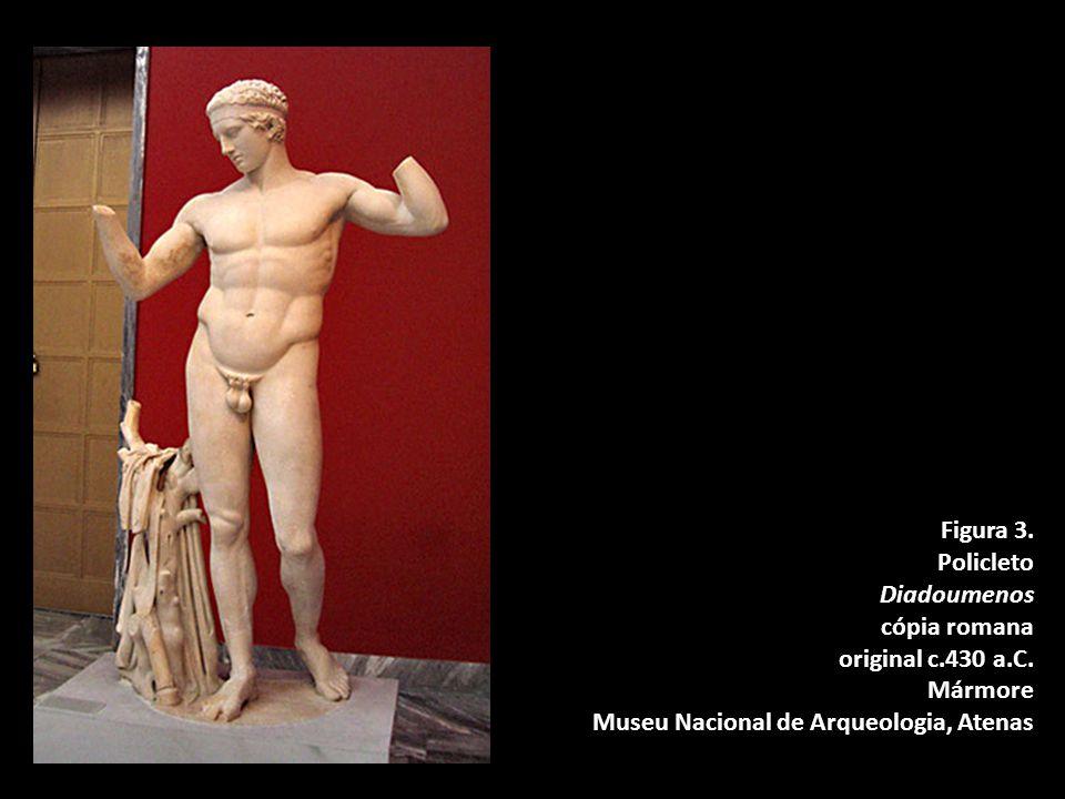 Figura 3.Policleto Diadoumenos cópia romana original c.430 a.C.