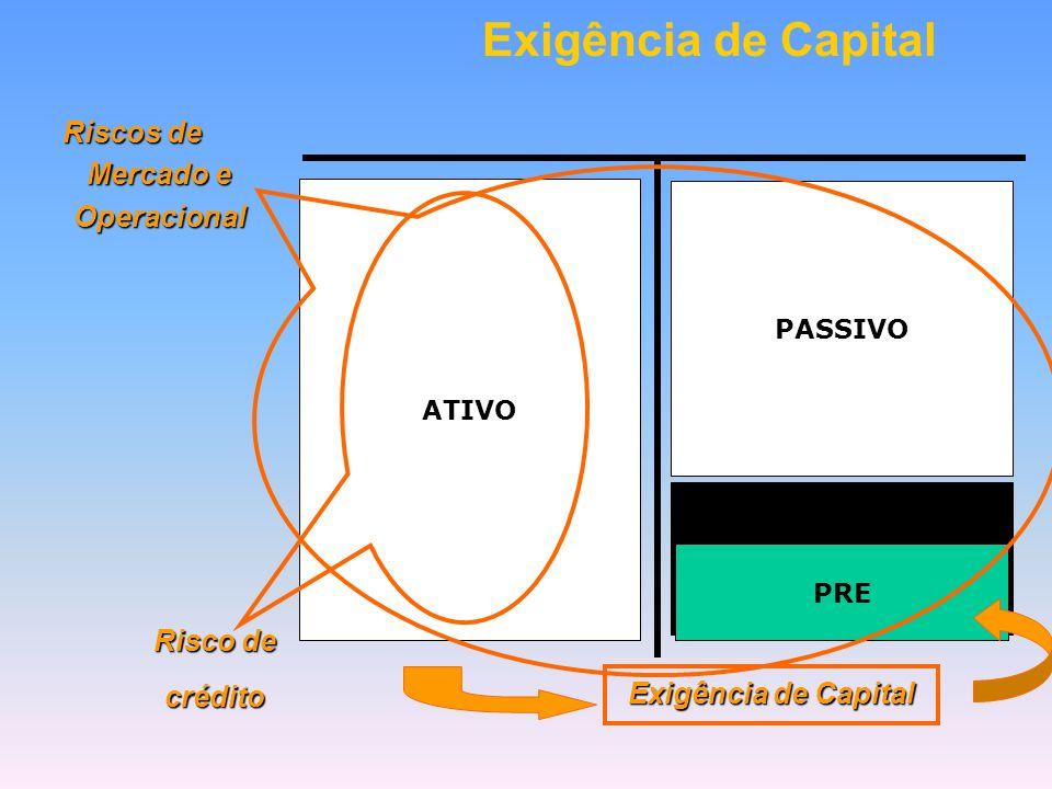 """O capital próprio das Instituições Financeiras (PL) funciona como um """"colchão"""", com a finalidade de proteger os depositantes (capital de terceiros) de"""