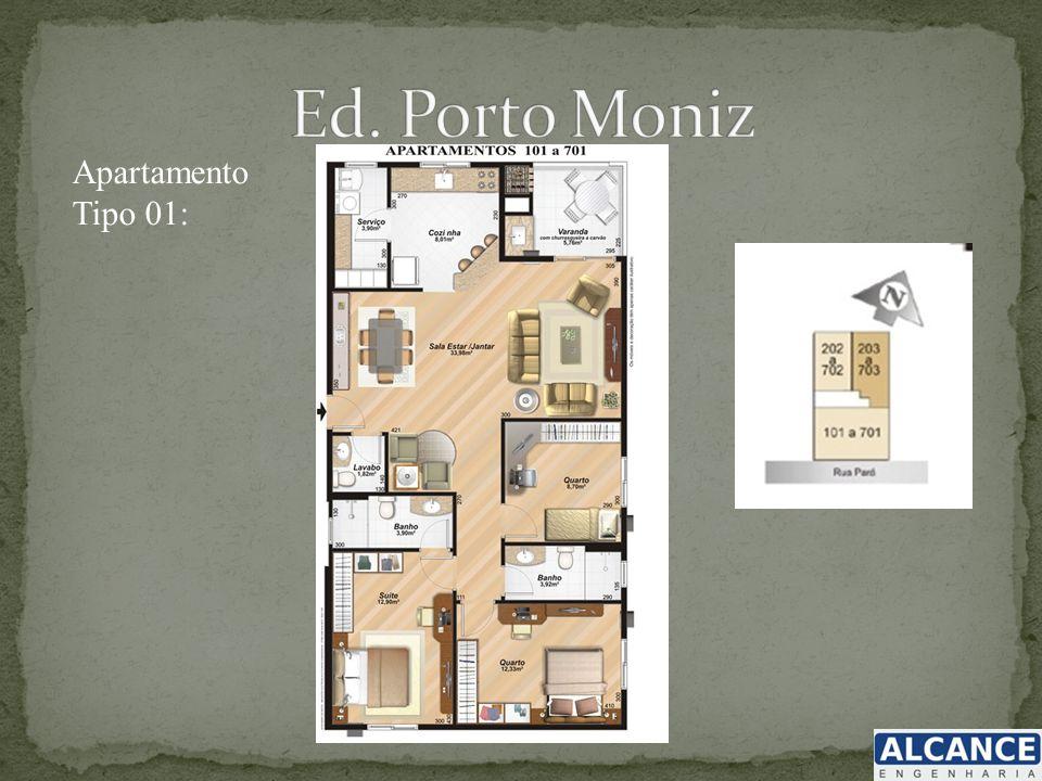 Apartamento Tipo 01: