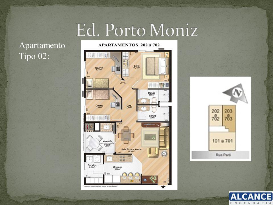 Apartamento Tipo 02: