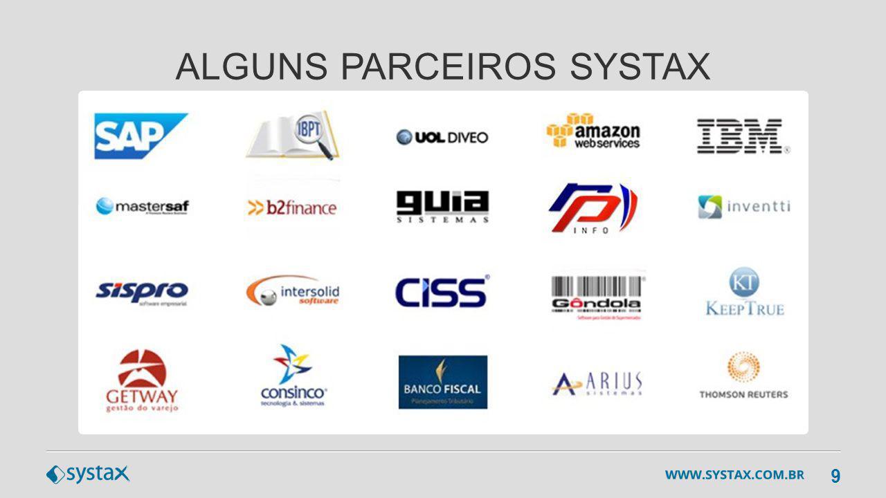 9 ALGUNS PARCEIROS SYSTAX
