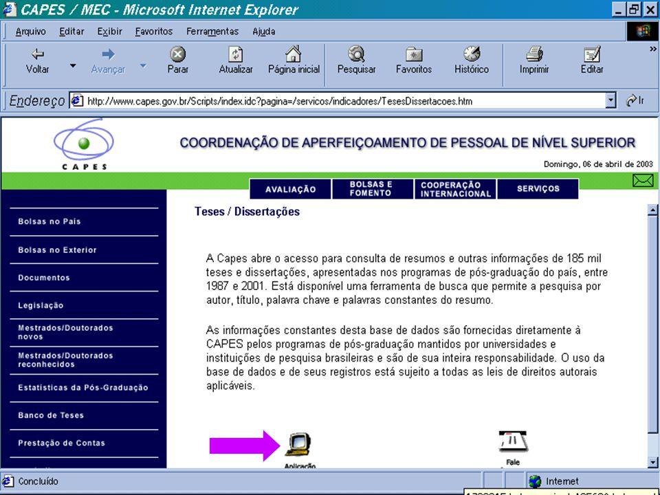(c) GCS, 200331 Teses e Dissertações - CAPES