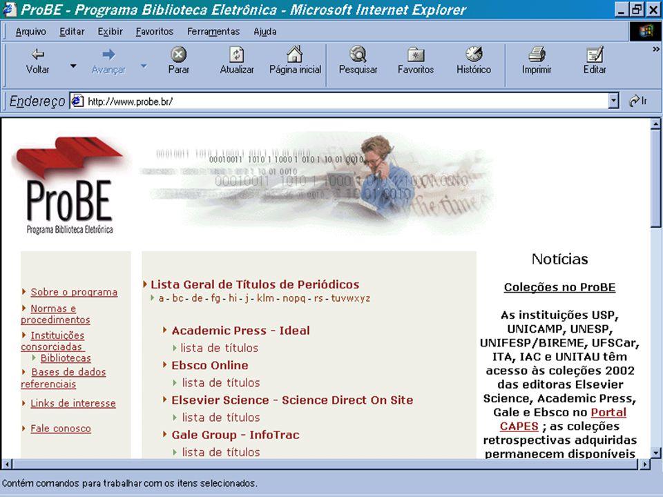 (c) GCS, 200336 ProBE - Programa Biblioteca Eletrônica