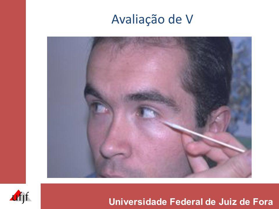 Avaliação de V Universidade Federal de Juiz de Fora