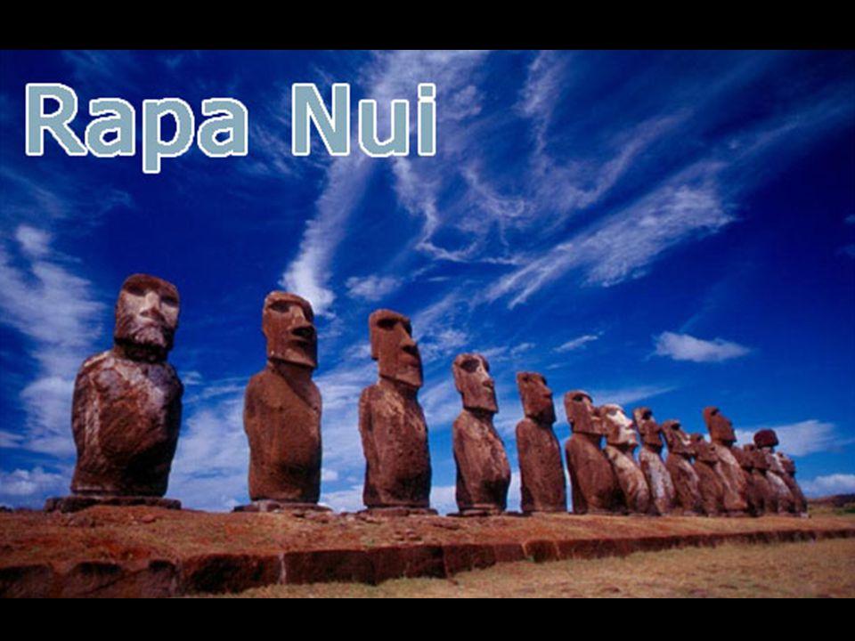 Os Moáis são os únicos vestígios da misteriosa e ancestral cultura dos antigos habitantes da Ilha: a cultura Rapa Nui.