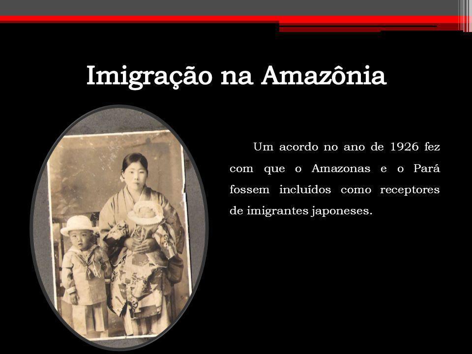 Alguns japoneses optaram por ficar na Vila Amazônia, mas outros resolveram migrar para novas terras dentro da Amazônia.