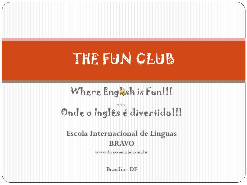Learning English can be fun!!.