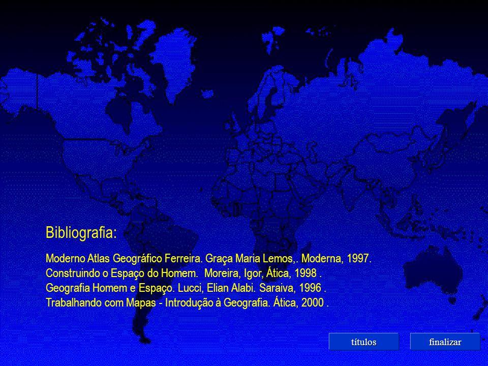 Bibliografia: Moderno Atlas Geográfico Ferreira.Graça Maria Lemos,.