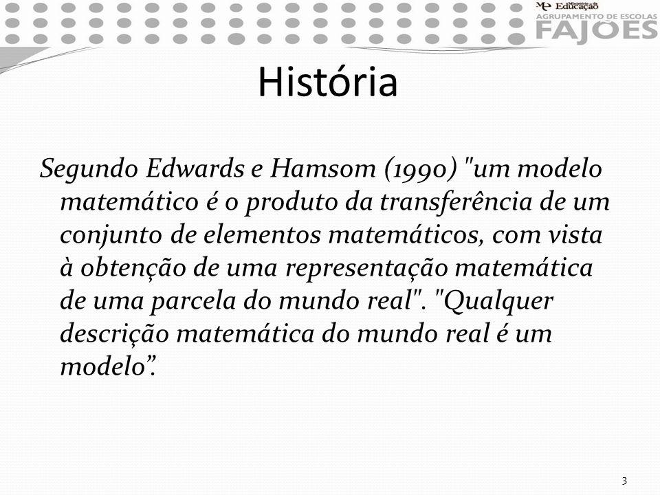 História Segundo Edwards e Hamsom (1990)