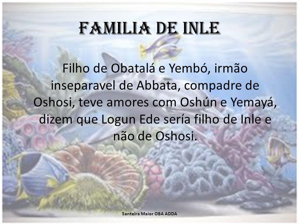 Diloggún en Inle Fala em diloggún por Oché-Oddí (5-7) e Oddí-Oché (7-5).