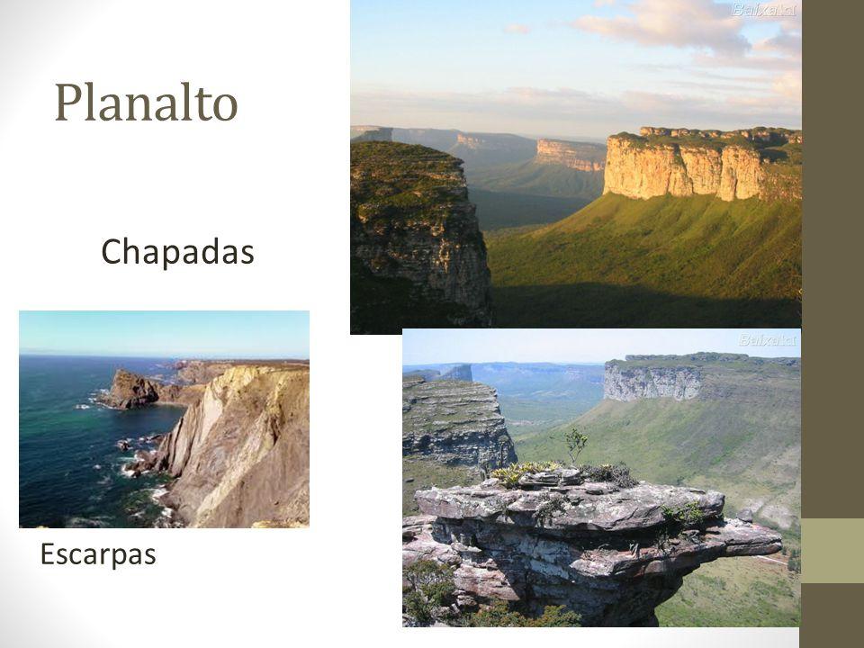 Planalto Escarpas Chapadas