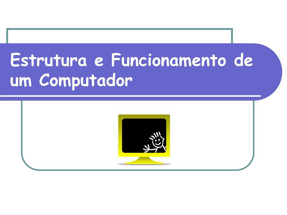 Representação de Dados Em um computador são armazenados e processados apenas dados e instruções.