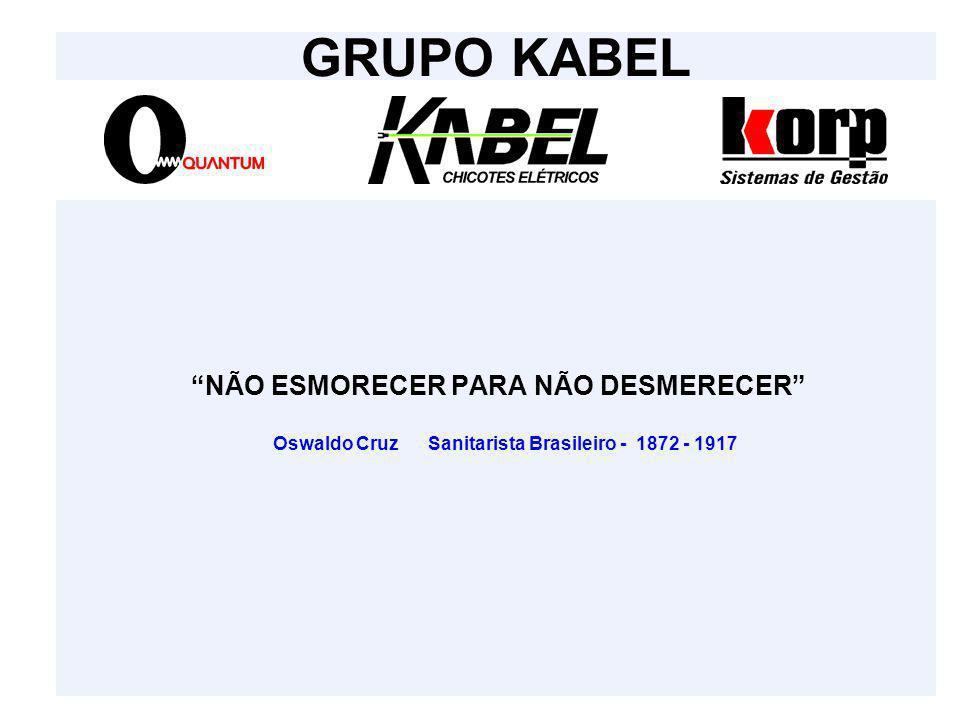 """""""NÃO ESMORECER PARA NÃO DESMERECER"""" Oswaldo Cruz Sanitarista Brasileiro - 1872 - 1917 GRUPO KABEL"""