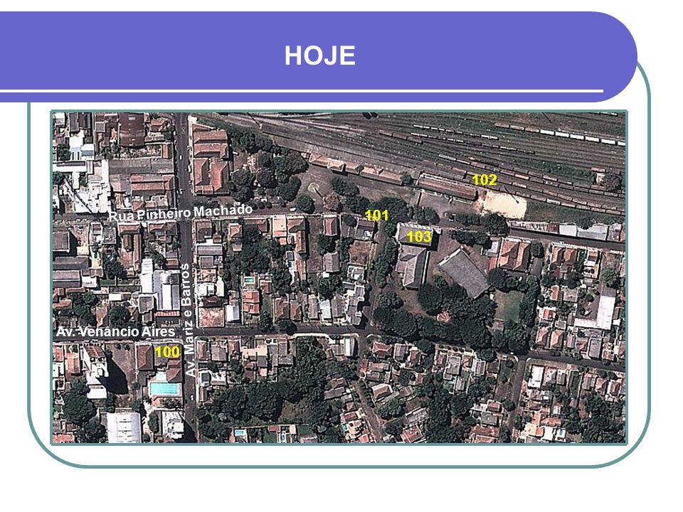 LEGENDA 92- HIDRÁULICA MUNICIPAL - PROJETOS 42 93- AV.