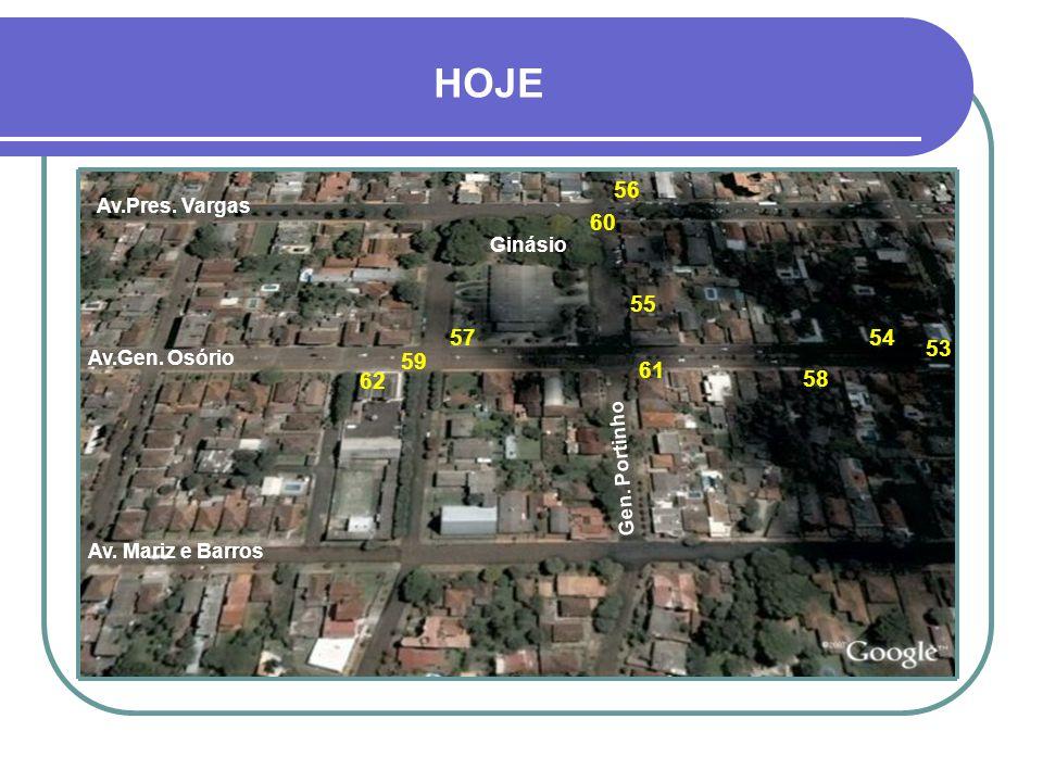 LEGENDA 43- MUSEU – PROJETO 12 44- CASA DUMONCEL – PROJETO 19 45- BOLICHÃO – PROJETO 16 46- MARCHIONATTI – PROJETO 16 47- MARCHIONATTI – PROJETO 18 48- CASA ROCHA MONTENEGRO - PROJETO 19 49- ESQUINA BOLICHÃO – PROJETO 20 50- MARCHIONATTI – PROJETO 16 51- CASA RAMBO – PROJETO 16 52- AVENIDA GENERAL OSÓRIO – PROJETO 20 44 45 46 47 4348 49 50 51 52