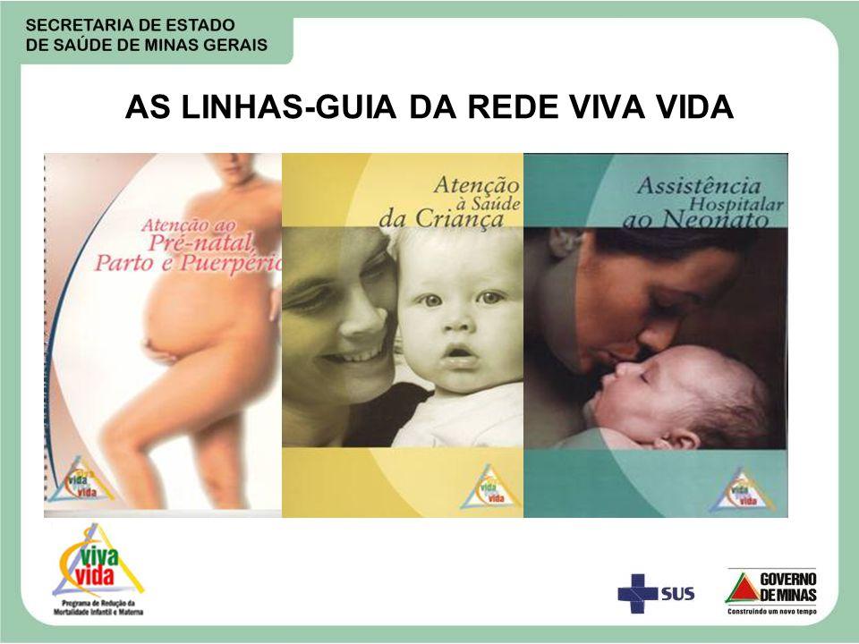 AS LINHAS-GUIA DA REDE VIVA VIDA