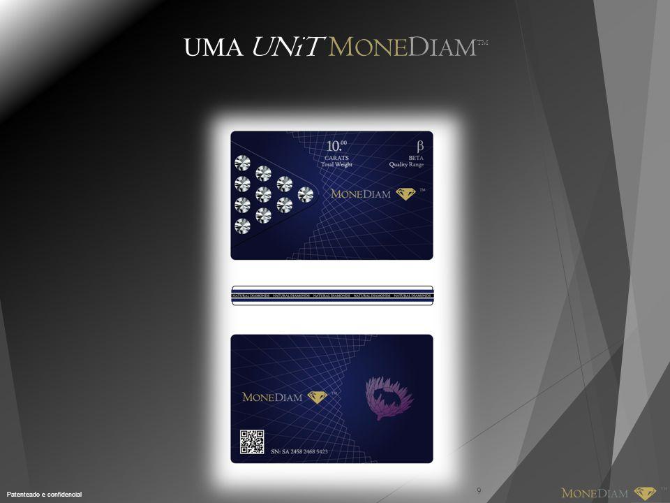 Patenteado e confidencial UMA UNiT M ONE D IAM TM 9