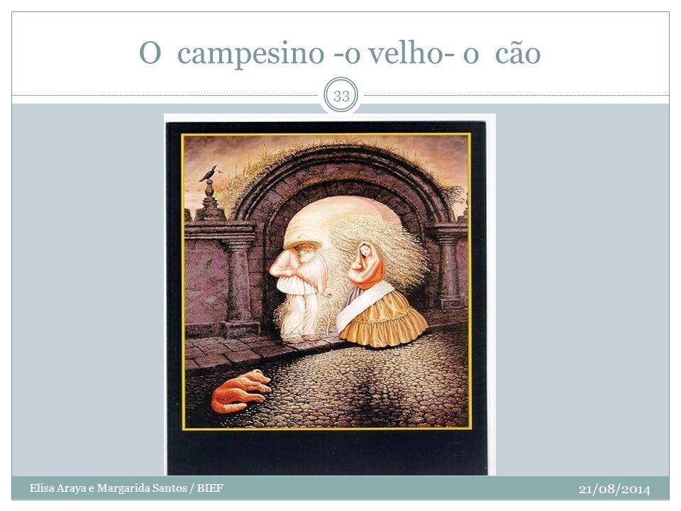 O campesino -o velho- o cão 21/08/2014 33 Elisa Araya e Margarida Santos / BIEF