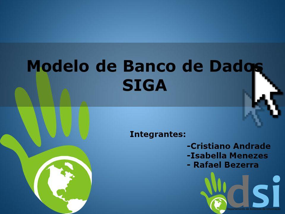  Nome do Banco de Dados - identifica a sigla do projeto que esta sendo automatizado.