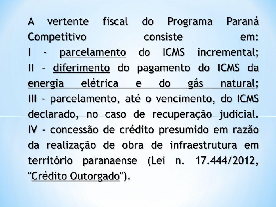 - A inadimplência, por qualquer estabelecimento da empresa, em relação ao pagamento do ICMS devido, de três GIA/ICMS; - A desativação do estabelecimento autorizado.
