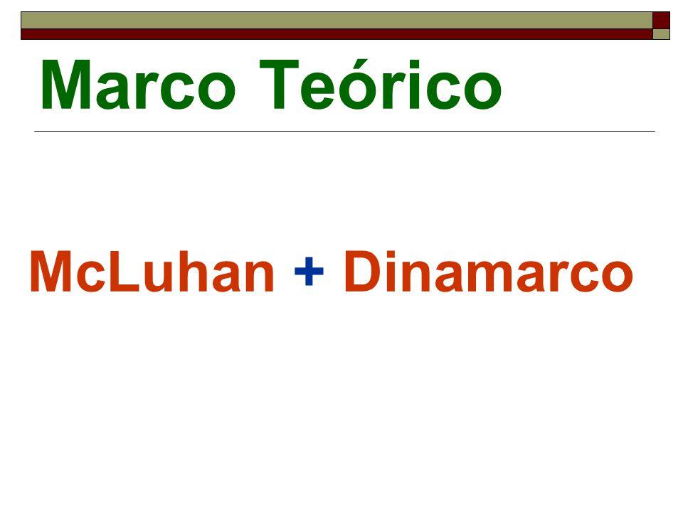 Marco Teórico McLuhan + Dinamarco