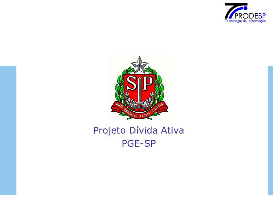 Projeto Dívida Ativa PGE-SP