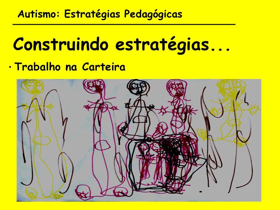 Autismo: Estratégias Pedagógicas ___________________________________ Construindo estratégias... Trabalho na Carteira