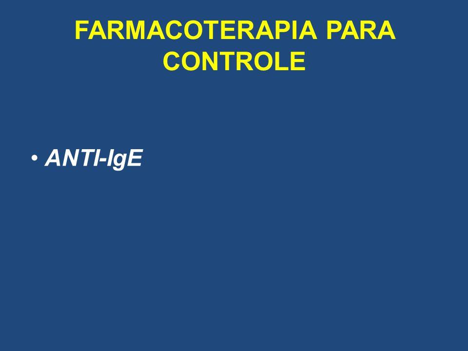 FARMACOTERAPIA PARA CONTROLE ANTI-IgE