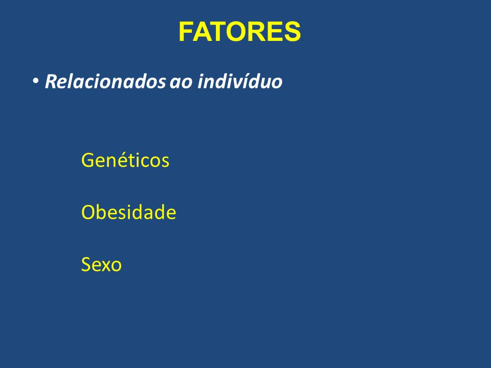 FATORES Genéticos predisposição à alergia predisposição à hiperresponsividade Dolovich et al, 2005