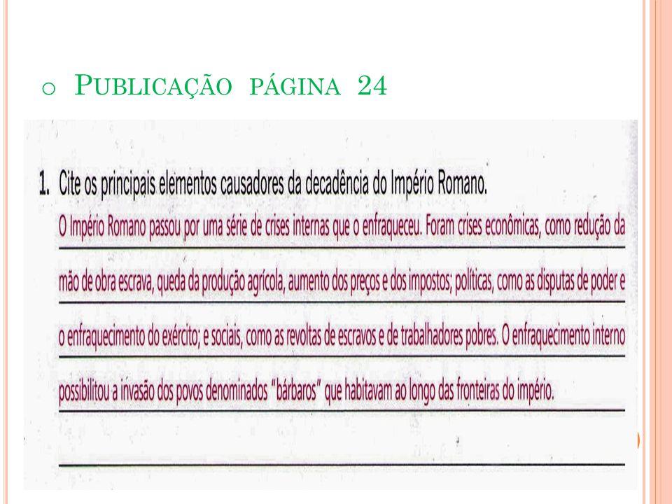 FIM DAS CONQUISTAS E CRISE NA PRODUÇÃO PUBLICAÇÃO PÁGINA 12