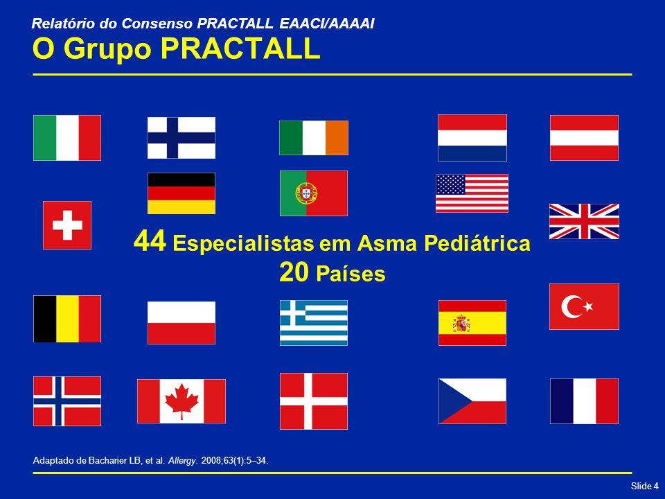 Slide 25 Resumo das Principais Alterações Texto adaptado de Global Initiative for Asthma.