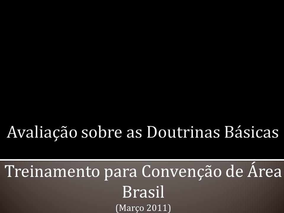 Treinamento para Convenção de Área Brasil (Março 2011)