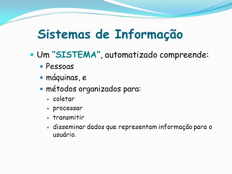 Importância SI Um dos grandes desafios dos Sistemas de Informação é assegurar: a qualidade e agilidade da informação imprescindível para as corporações e seus gestores