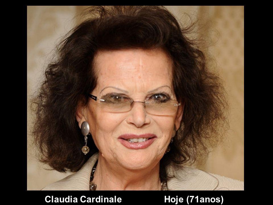Claudia Cardinale Ontem
