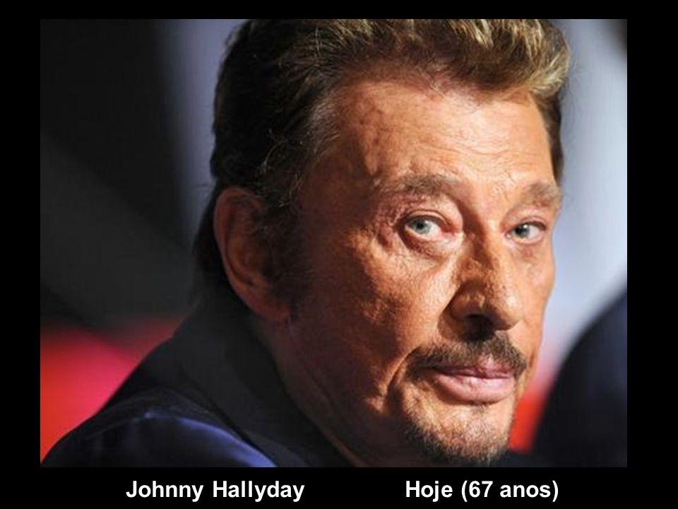 Johnny Hallyday Ontem