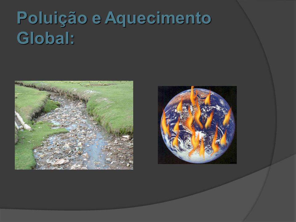 Terminologia:  O termo aquecimento global é um exemplo específico de mudança climática à escala global.