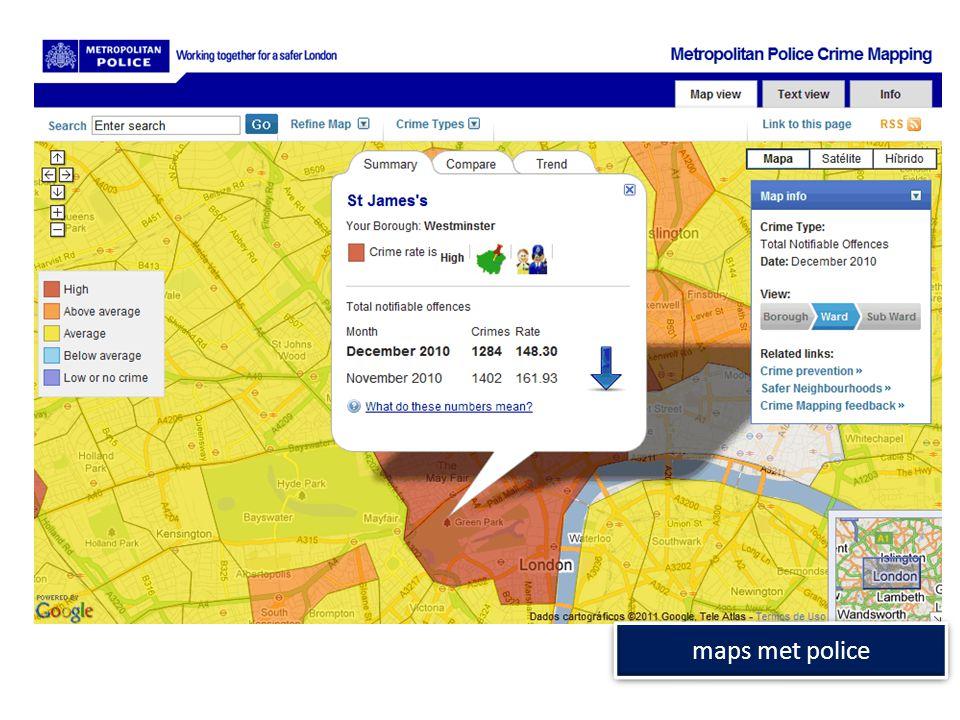 maps met police