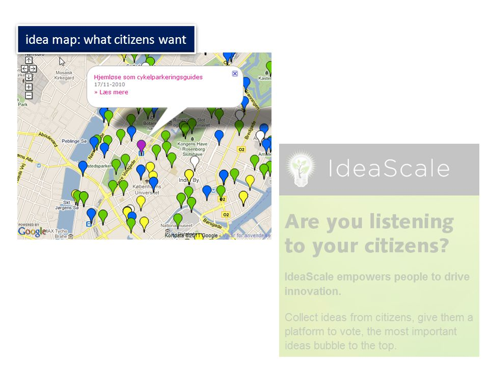 idea map: what citizens want