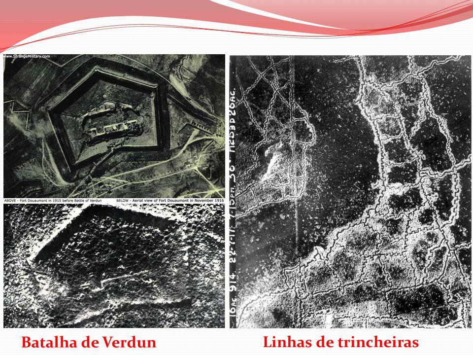 Batalha de Verdun Linhas de trincheiras