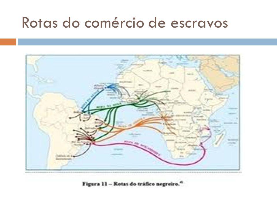 Rotas do comércio de escravos