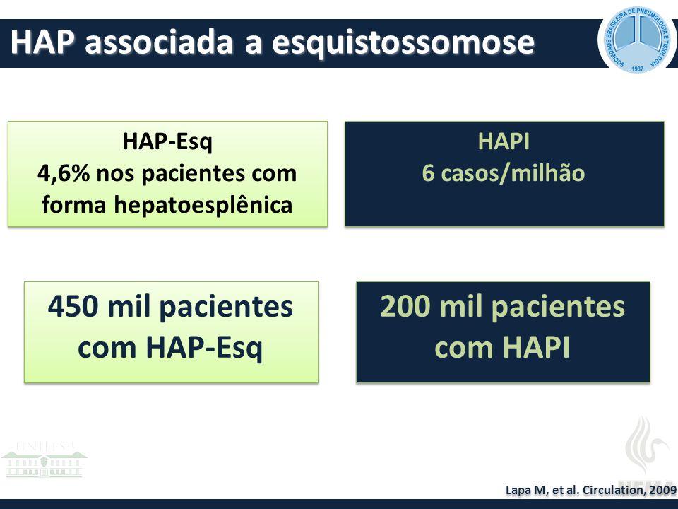 HAP associada a esquistossomose Lapa M, et al.