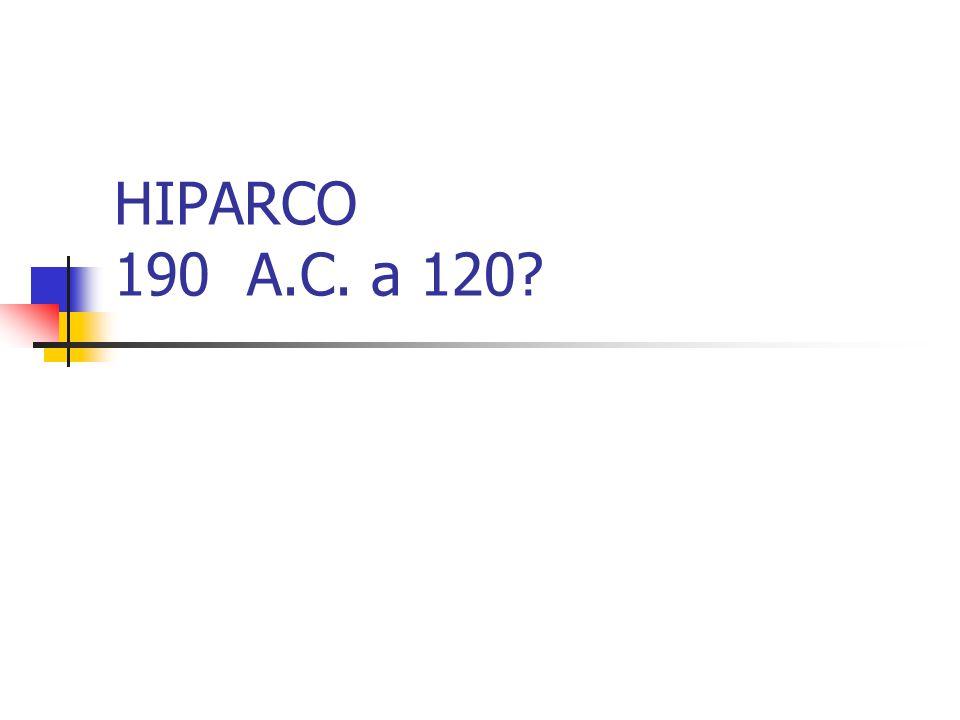 HIPARCO 190 A.C. a 120?