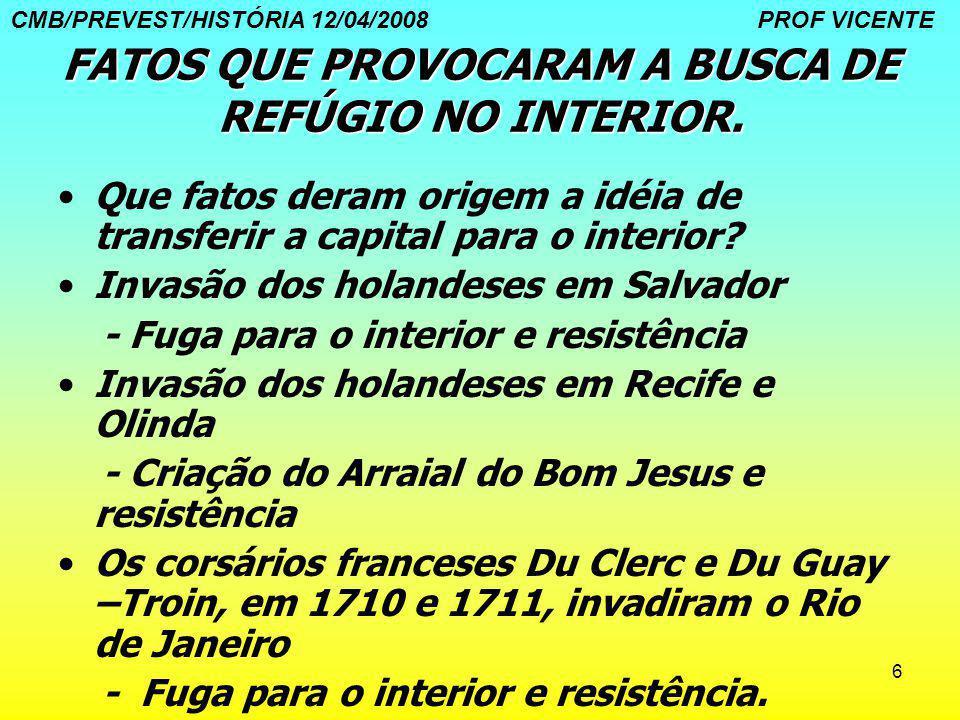 37 INAUGURAÇÃO DE BRASÍLIA Brasília é inaugurada.