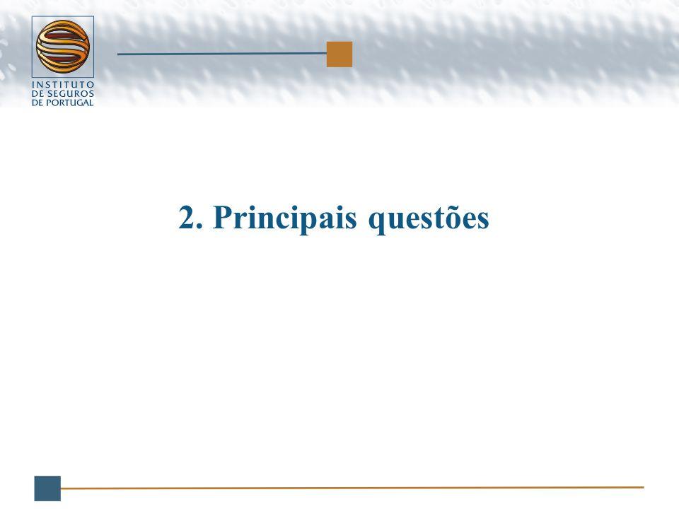 2.Principais questões