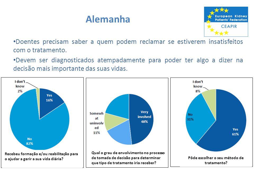 Portugal Doentes precisam receber mais informação ou reabilitação para os ajudar a lidar com a doença na sua rotina diária.