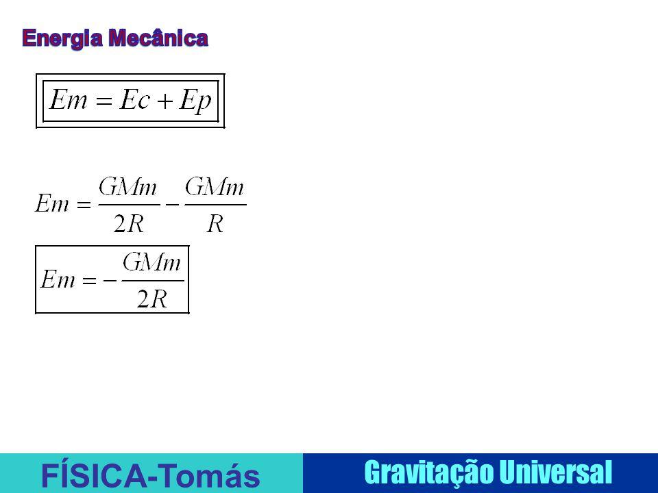 FÍSICA-Tomás Gravitação Universal